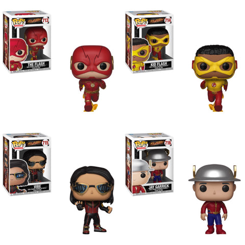 The Flash Funko Pop BUNDLE
