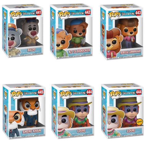 Talespin Funko Pop BUNDLE with CHASE