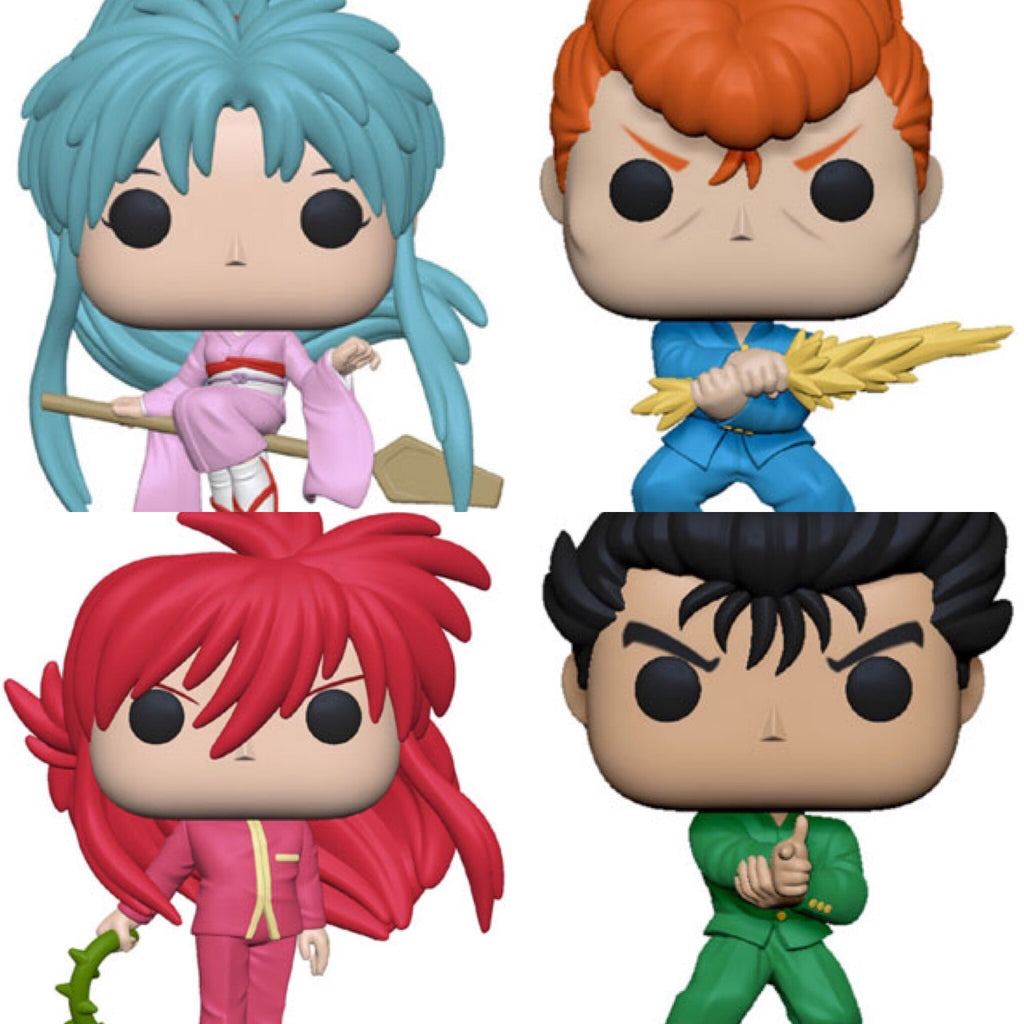 Yu Yu Hakusho Funko Pop BUNDLE