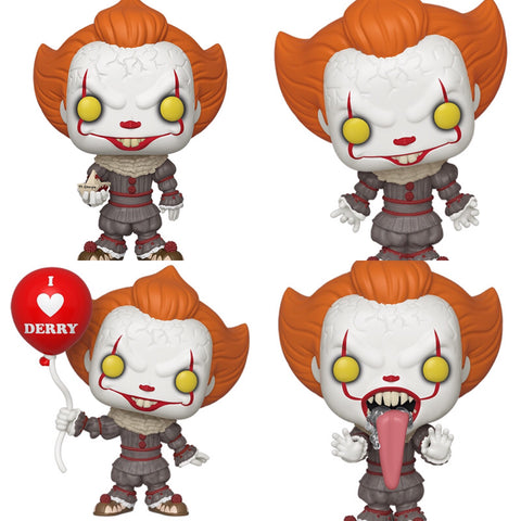 It: Chapter 2 Pennywise Funko Pops