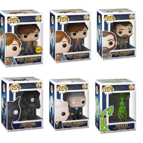 The Crimes Of Grindelwald Funko Pop BUNDLE with CHASE