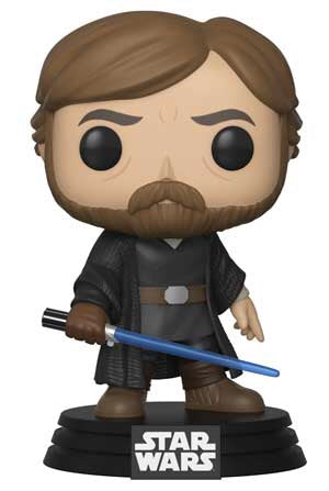Luke Skywalker Star Wars The Last Jedi WAVE 2 Funko Pop