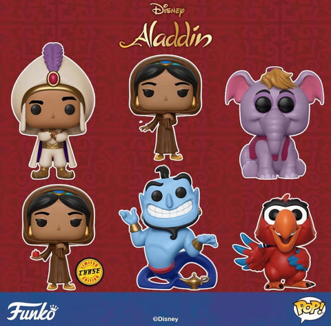 Aladdin Funko Pop BUNDLE with CHASE