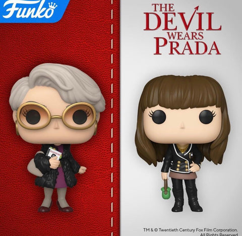 The Devil Wears Prada Funko Pops