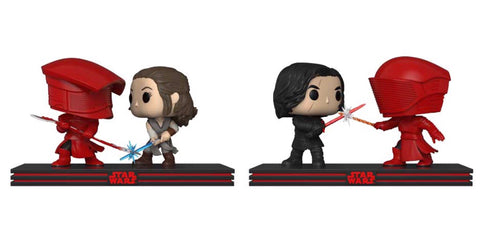 Star Wars The Last Jedi WAVE 2 Movie Moment Funko Pop BUNDLE