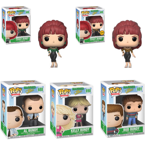 Married With Children Funko Pop BUNDLE with CHASE