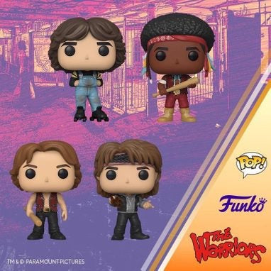 The Warriors Funko Pops