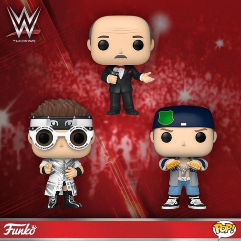 WWE Funko Pops (NEW WAVE 2020)