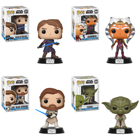 Star Wars: The Clone Wars Funko Pop BUNDLE