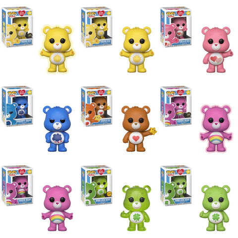 Care Bears Funko Pop! Animation Bundle w/Chases