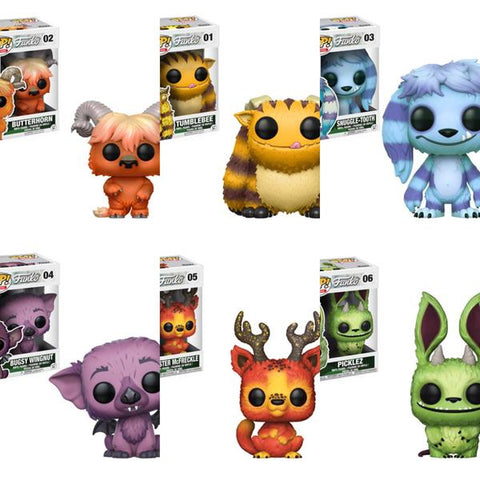 Wetmore Forest Monsters(Old Monsters) Funko Pops