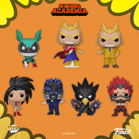 My Hero Academia Funko Pops