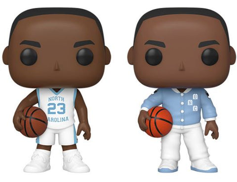 Michael Jordan University Of North Carolina Funko Pops
