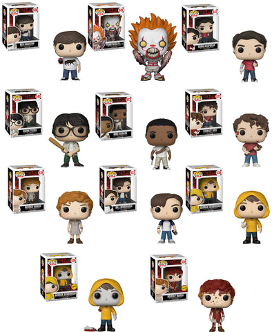 IT Funko Pop Movies Bundle with CHASES