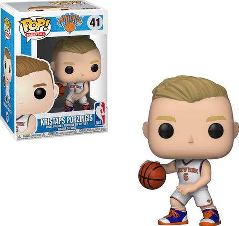 Kristaps Porzingis New York Knicks NBA Funko Pop