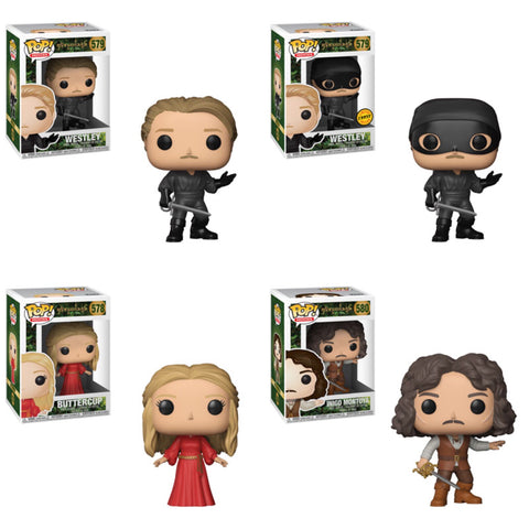 Princess Bride Funko Pop Bundle with CHASE