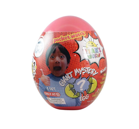 Ryan's World Surprise RED Mystery Egg