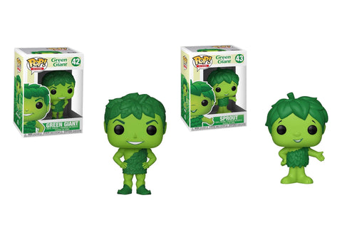 Green Giant Ad Icon Funko Pops