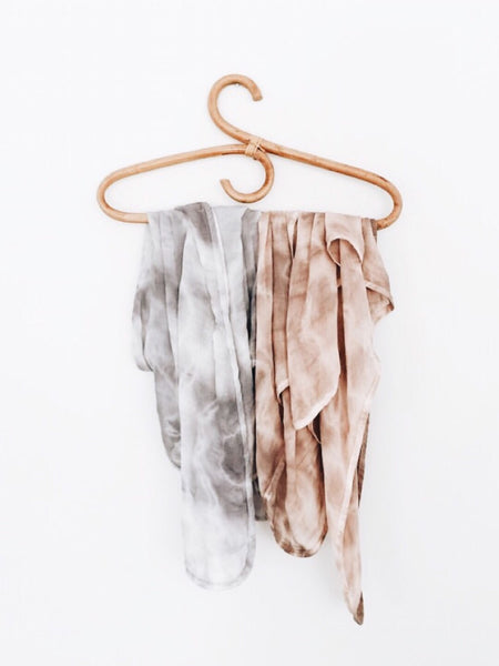 ORGANIC COTTON TIE DYE SWADDLES