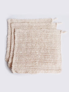 CROCHET SISAL WASH CLOTH
