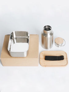 BENTO BOX AND BOTTLE SET