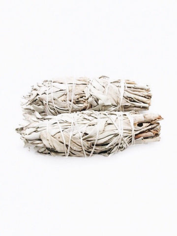 WHITE SAGE SMUDGE STICK SMALL