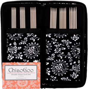 ChiaoGoo Double Pointed Needle set