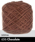 Serina - 50 Grams Chocolate Yarn
