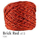 Tori -100 Grams Brick Red Yarn
