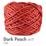Tori -100 Grams Dark Peach Yarn