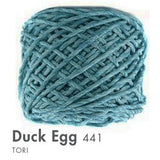 Tori -100 Grams Duck Egg Yarn