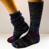 Pure Wool Mongrel Socks - Large