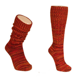 Pure Wool Mongrel Socks - Medium