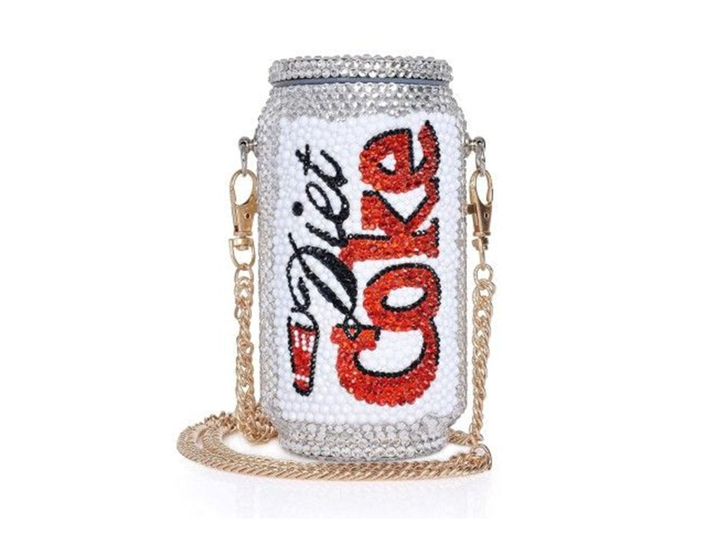 Fashionable and Bling Diet Coke Clutch - Bridal / Bridesmaid / Wedding Clutch / Evening bag - wedding prom festival fashion party
