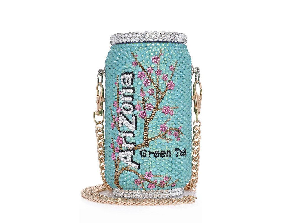 Fashionable and Bling Arizona Tea Clutch - Bridal / Bridesmaid / Wedding Clutch / Evening bag - wedding prom festival fashion party