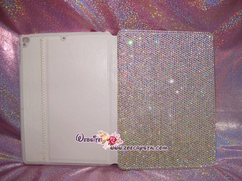 Bedazzled Bling  iPAD CASE / Cover with Swarovski or Czech crystal (iPad air, iPad pro, iPad mini are available)Strass Sparkly