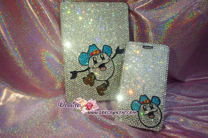 Customize Bundle of Match Set Bling iPAD Pro Case Plus iPhone Case - Made with Sparkly Shinny Glittery Bedazzled Crystal Rhinestone s