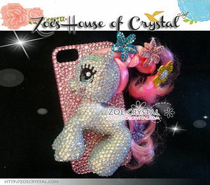Czech/ Swarovski My Little Pony 3D Cell Phone Case