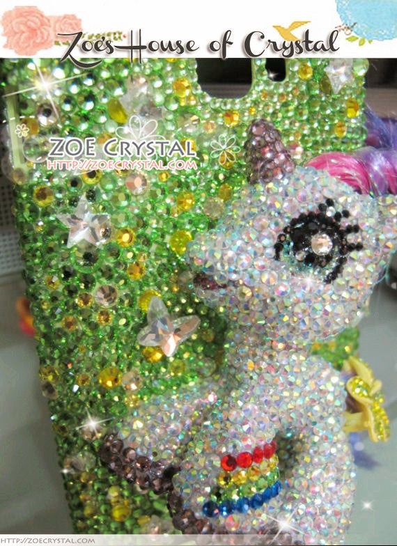Czech/ Swarovski My Little Pony or Unicorn 3D Cell Phone Case