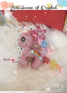 Swarovski elements My Little Pony 3D Bling Crystal Cell Phone Case