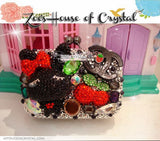 Bling and Sparkly CRYSTAL Clutch with Mashimaro