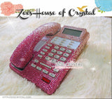 Bling and Sparkly Pink OFFICE / DESK  PHONE to ensure a good conversation for every call.