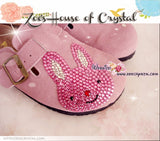 Promtion: 20% off Casual Style Bling and Sparkly Clogs / Sandals with Cute Bunny