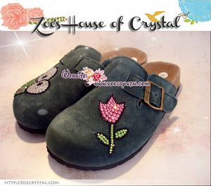 Promtion: 20% off Casual Style Bling and Sparkly Clogs / Sandals with Keroppi