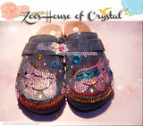 Promtion: 20% off Casual Style Bling and Sparkly Clogs / Sandals with Ponies