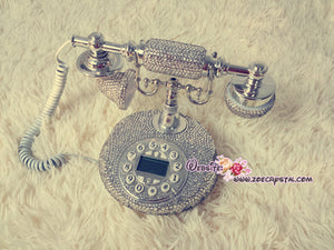 CLASSIC Bling and Sparkly PHONE to ensure a good mood when making / receiving a call