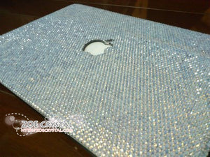 Macbook Opal White Crystal Case