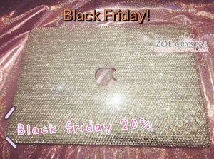 20% off MACBOOK Case Crystal Rhinestone size SS20(5mm) Sparkly Kylie Jenner Kim Kardashian