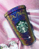 Stylish BLING Crystallized STARBUCKS Cold Cup