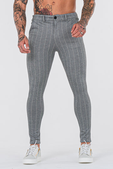 THE AVERY TROUSERS - GREY - ICON. AMSTERDAM